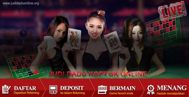Judi Dadu Kopyok Online